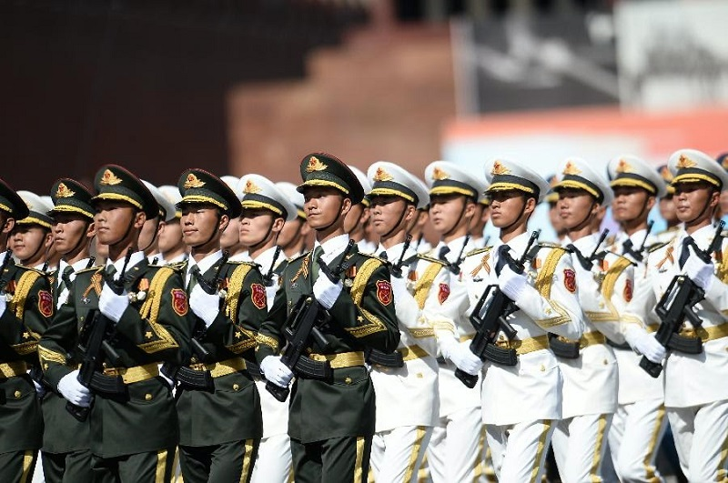 Gambar Tentara China